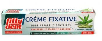 Crème fixative pour prothèse dentaire