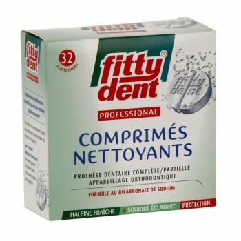 Comprimés nettoyants pour prothèse dentaire