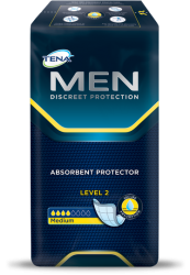 Tena Men Level 2 Medium (nouveau modèle)