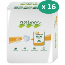 16 paquets de Nateen Flexi Soft Medium