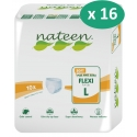 Nateen Flexi Soft Large - 16 paquets de 10 protections