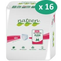 16 paquets de Nateen Flexi Plus Medium