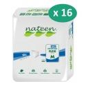 Nateen Flexi Maxi Medium - 16 paquets de 10 protections