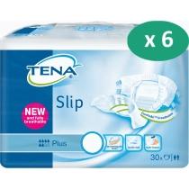 6 paquets de Tena Slip Plus