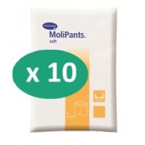 10 paquets de Hartmann MoliPants Soft