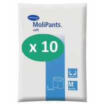 10 paquets de Hartmann MoliPants Soft Medium