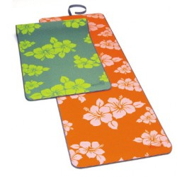 SISSEL® Yoga Mat Flower - Natte de Yoga - Motifs à fleurs