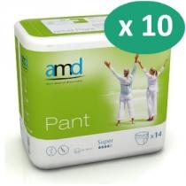 10 paquets de AMD Pant Super