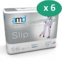 AMD Slip Maxi+ XL - 6 paquets de 20 protections