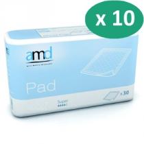 10 paquets de AMD Pad Super