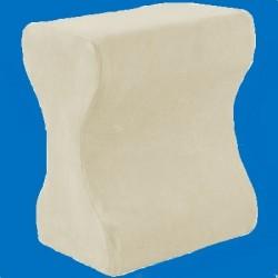 Coussin pour genoux à mémoire de forme en mousse viscoélastique