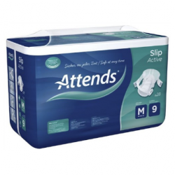 ATTENDS Slip Active 9 Medium - 28 protections
