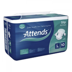 ATTENDS Slip Active 10 Large