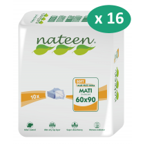 16 paquets de Nateen Mati Soft 60 x 90 cm