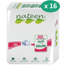 16 paquets de Nateen Mati Plus 60 x 90 cm