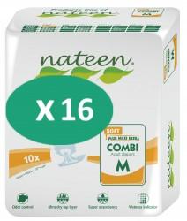 16 paquets de Nateen Combi Soft Medium