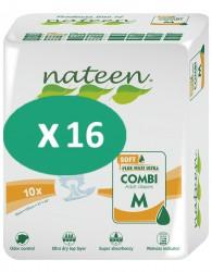 16 paquets Nateen Combi Super Soft Medium