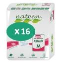 Nateen Combi Plus Medium - 16 paquets de 10 protections