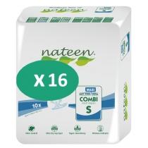 16 paquets de Nateen Combi Maxi Small