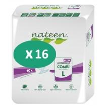 16 paquets de Nateen Combi Ultra Large