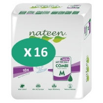 16 Paquets de Nateen Combi Super Ultra Medium