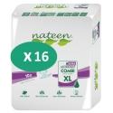 Nateen Combi Super Ultra XL - 16 paquets de 10 protections