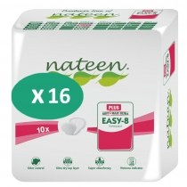 16 paquets Nateen Easy-8 Plus