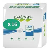 16 paquets de Nateen Easy-8 Maxi