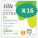 Lille Suprem Pants Extra Medium - 16 paquets de 14 protections