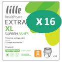 Lille Suprem Pants Extra XL - 16 paquets de 14 protections