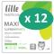 12 paquets de Lille Suprem Pants Maxi Small