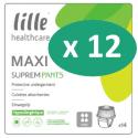 Lille Suprem Pants Maxi Small - 12 paquets de 14 protections