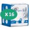 16 paquets de ID Pants Plus Medium