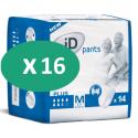 ID Pants Plus Medium - 16 paquets de 14 protections