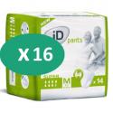 ID Pants Super Medium - 16 paquets de 14 protections