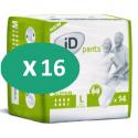 ID Pants Super Large - 16 paquets de 14 protections