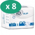 ID Expert Slip Plus Small - 8 paquets de 14 protections