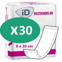 ID Expert Rectangular Traversable 8 x 30 cm (NW)