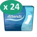 Attends Soft 4 Maxi - 24 paquets de 8 protections