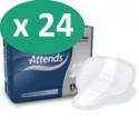 ATTENDS For Men 4 - 24 paquets de 14 protections