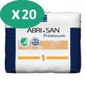 ABENA Abri-San Premium 1 - 20 paquets de 28 protections