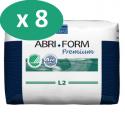 Abena Abri-Form 2 Large - 8 paquets de  22 protections