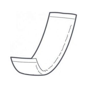 Couche rectangulaire intraversable 11 x 38 cm | Senup