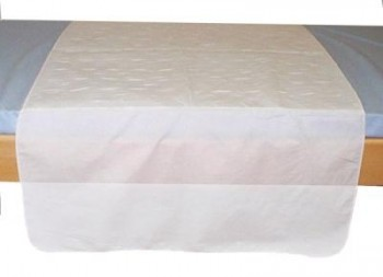 Alèse Textile lavable 85 x 90 cm avec rabats