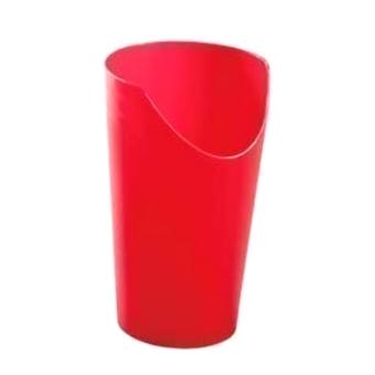 Gobelet avec découpe pour le nez - Rouge