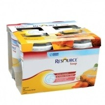Nestlé Resource® SOUP - Pack de 4 x 200 ml - Poulet