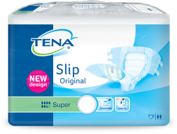 Tena Slip Super Medium Plastique