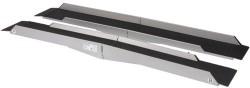 Rampe d'accès double en aluminium - Longueur 180 cm