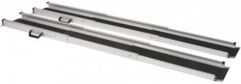 Rampe d'accès double téléscopique en aluminium