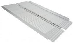 Rampe d'accès simple en aluminium
